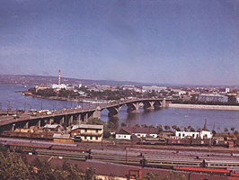 "Modern Irkutsk. Photo from album ""Irkutsk"", 1986"