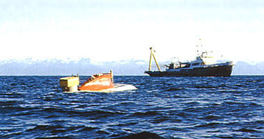 "Investigations of Baikal with the help of submarine apparatus ""Piesces""."